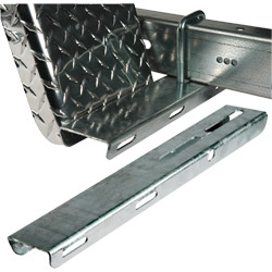 Galvanized Fender Step Pad