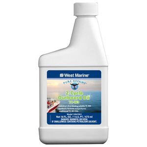 Synthetic 2-Cycle TC-W3 Biodegradable Outboard Oil, Pint