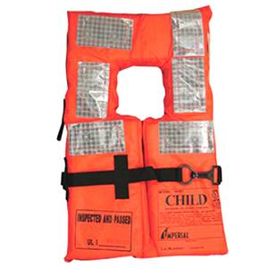 Ferry Boat Type I Offshore Life Jacket, Child