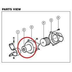 Motor, Replacement 24V