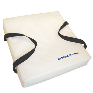 Deluxe Flotation Cushion, White