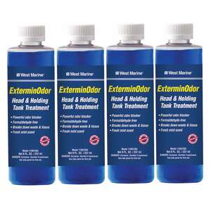 ExterminOdor Tank Treatment, Four 8 oz. Bottles