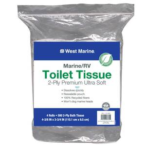 2-Ply Premium Ultra Soft Toilet Tissue, 4-Pack