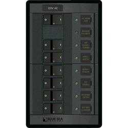 120V AC Main Panel + 6 Positions