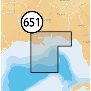 MSD/651P+ Central Gulf of Mexico Platinum+ Charts microSD Card