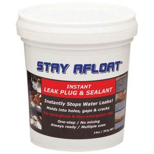 Stay Afloat Leak Plug and Sealant, 14 oz.