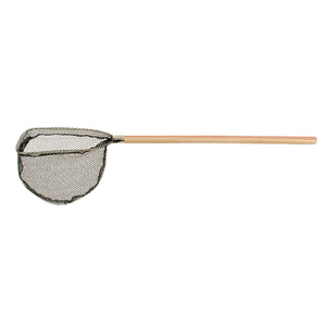 Bait Scoop Net with Wood Handle