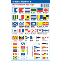 International Code Flags Decals