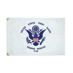 "U.S. Coast Guard Novelty Flag, 12"" x 18"""