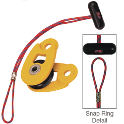 Mini Snatch Block & Snap Ring