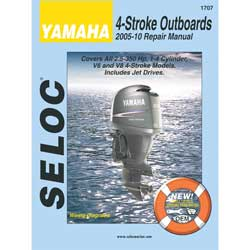 Yamaha 4 Stroke, Outboards, 2005-10 Repair Manual