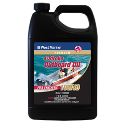 Premium 4-Stroke Full Synthetic Engine Oil, 10W40, Gal.