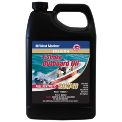 Premium 4-Stroke Full Synthetic Engine Oil, 20W40, Gal.