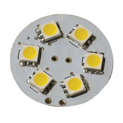 Dr Led White Surface Mount G4 Led Replacement Bulb West