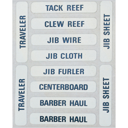 Sailboat Labels