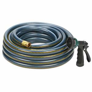 60' Wash Down Hose with Nozzle
