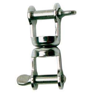 Stainless Steel Double Swivel Shackle