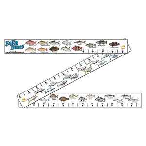 Folding Fish Stick Ruler with Florida Rules
