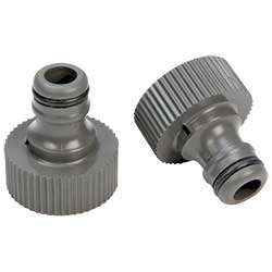 Garden Hose Connector, Two-Pack