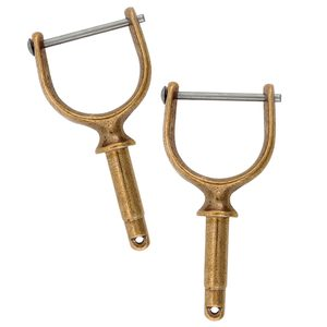 "1 7/8"" Pinned Bronze Oarlocks"