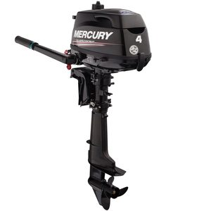 "4hp 4-Stroke Outboard, 20"" Shaft Length"