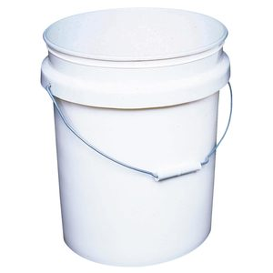Plastic Bucket, 5 Gallon