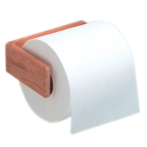 Teak Toilet Tissue Rack