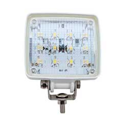 12 LED Deck Floodlight White
