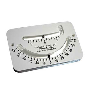 Double Scale Clinometer
