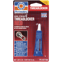 High Strength Threadlocker Red