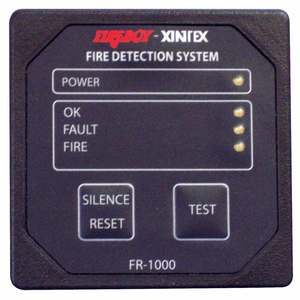 FR Series Fire Detection System, 1 Zone, 12 VDC