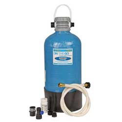 Portable Water Softener, Double Standard