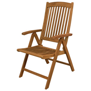 Avalon Teak Folding Deck Armchair
