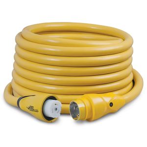 EEL ShorePower™ Cord, 50A,125V/250V, 50', Yellow