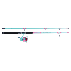 7' Ladies' Saltwater Spinning Combo