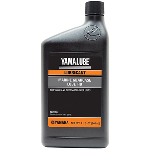 Yamalube Marine Lower Unit Gear Lube HD for Yamaha V8 Outboard, Quart