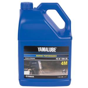 Yamalube Marine Performance Four-Stroke FC-W 10W-30 Oil, Gallon