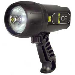 C8 eLED Dive Light, Black