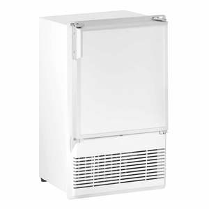 "14"" White Marine Crescent Ice Maker, 115V"