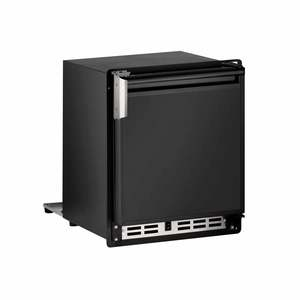 "15"" Black Marine Crescent Ice Maker, 115V"