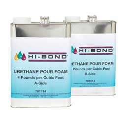 Pour Foam 2 Gallon Set, 4 lbs.