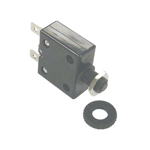 Push Button Circuit Breaker, Resettable, 3A