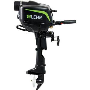 2.5hp Propane Powered Outboard, Short Shaft