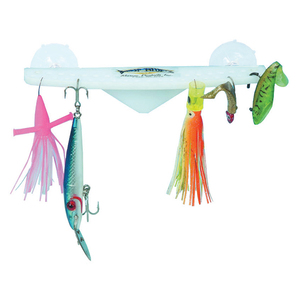 "10"" Acrylic Lure Rack"