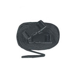 Boat Cover Tie Down Kit for Boats 12 Black Straps 8 ft Long Each with Buckles