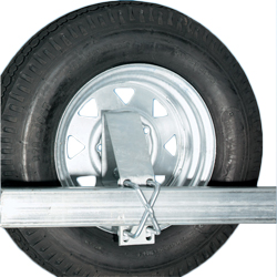 Trailer Spare Tire Carrier with U-Bolts