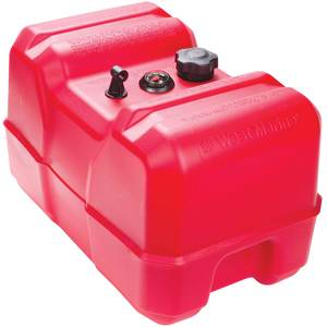 12 Gallon Tall-Profile Low Permeation Above-Deck Fuel Tank