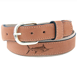 Men's Marlin Embossed Belt