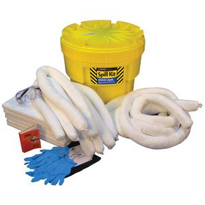 Oil Spill Kit, 20 Gallon Container