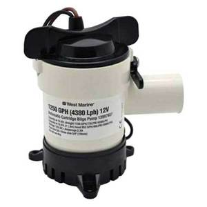 Johnson pump bilge pro replacement motor cartridges west marine 1250 gph cartridge bilge pump publicscrutiny Image collections
